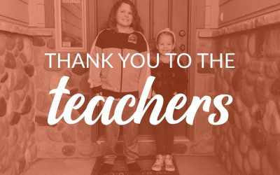 Thank You to the Teachers