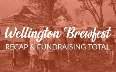 Wellington Brewfest Fundraising Results