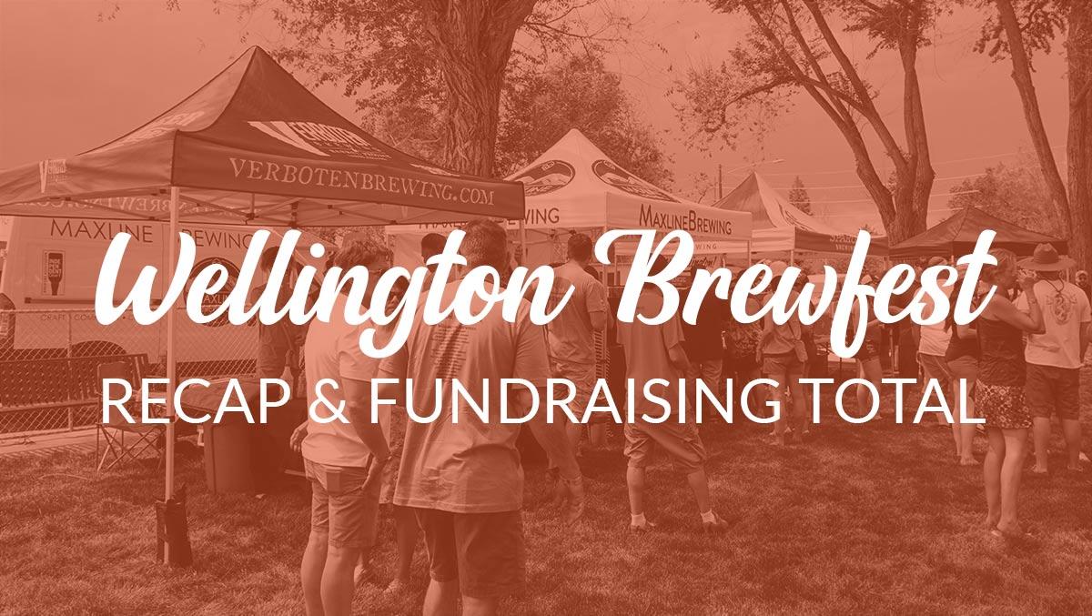 Wellington Brewfest Fundraising Total