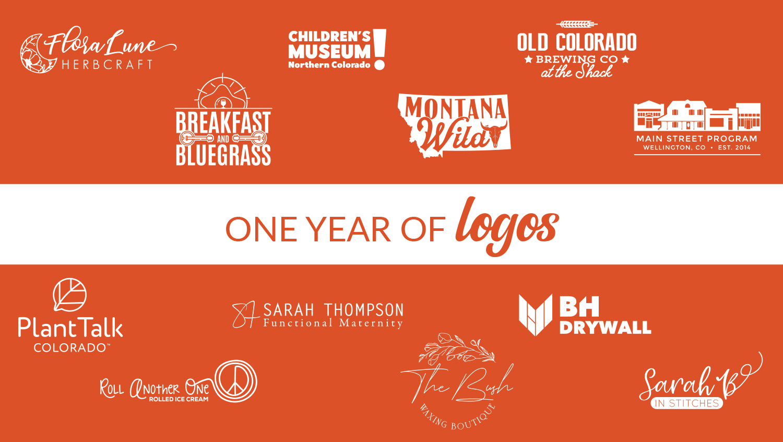 One Year of Logo Design